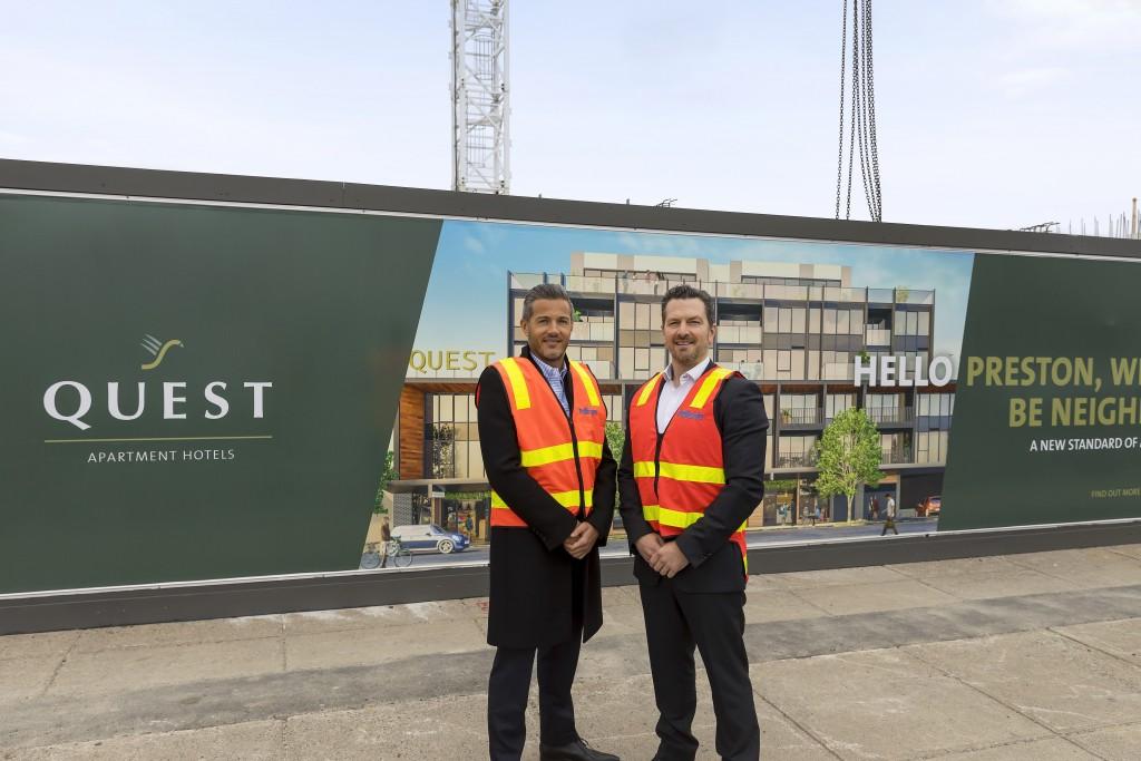Pellicano managing director, Nando Pellicano and Quest Apartment Hotels general manager – growth