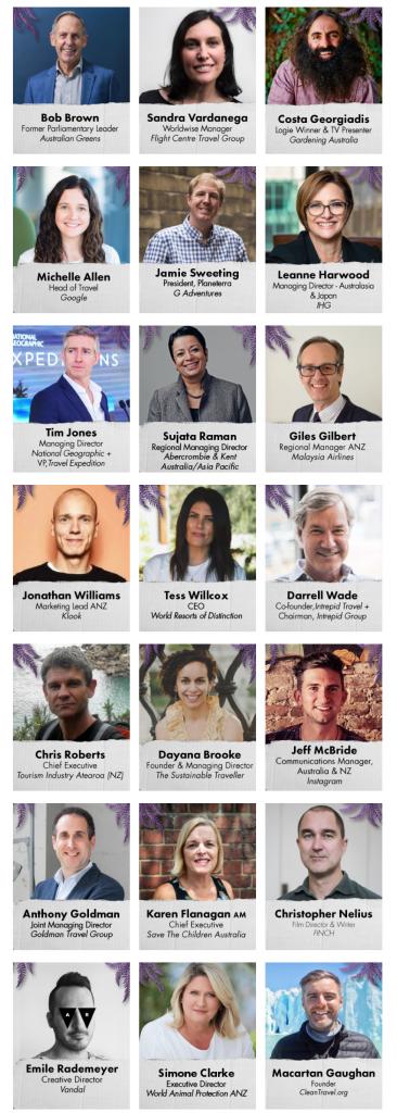 Travel DAZE 2019 speakers