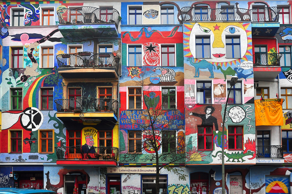 graffiti house, Berlin