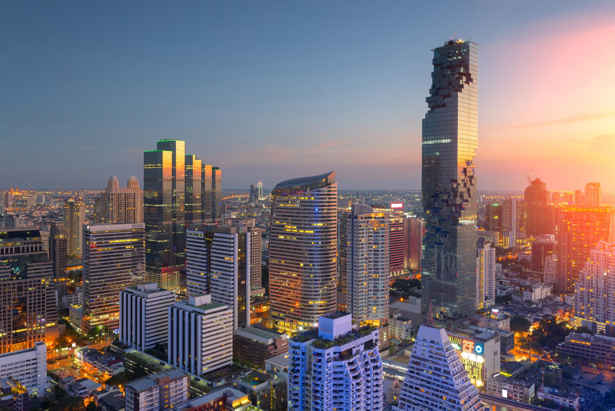 Four injured after multiple bombs explode across Bangkok