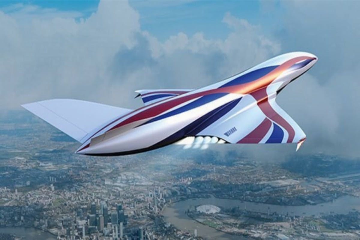 This 'space plane' could get travellers from Sydney to London in four hours by 2030