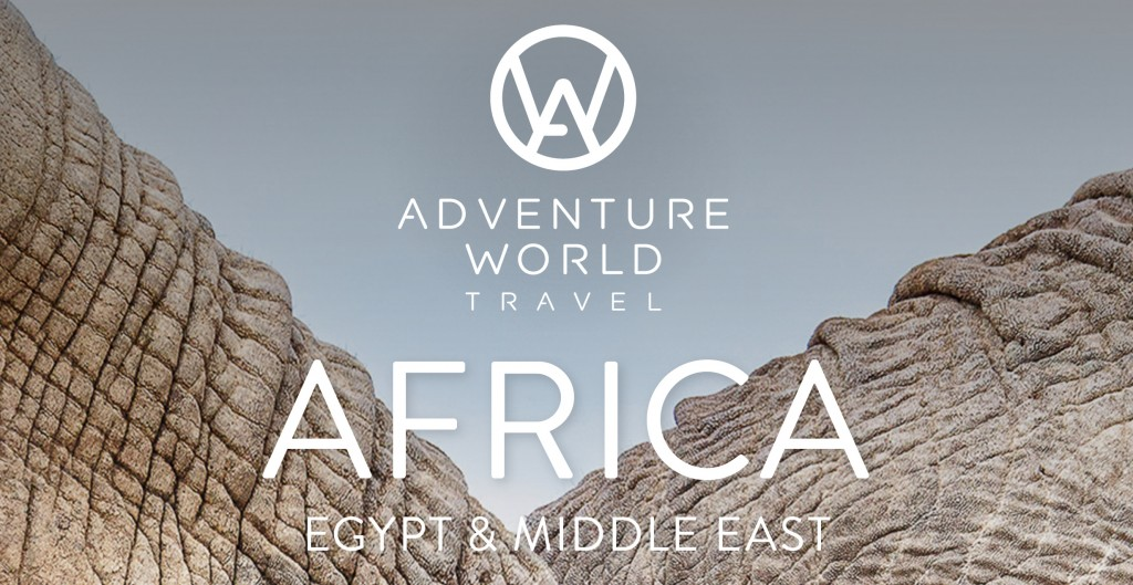 Adventure World Travel Africa 2020 brochure cover