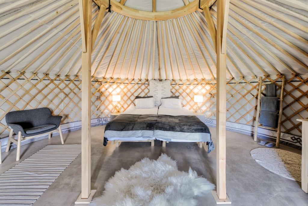Explore's Iceland yurt [1]
