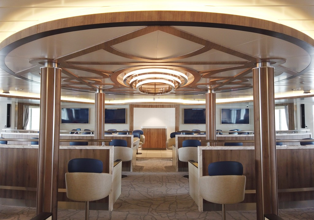 Image: Supplied by Aurora Expeditions. Greg Mortimer Lecture Theatre