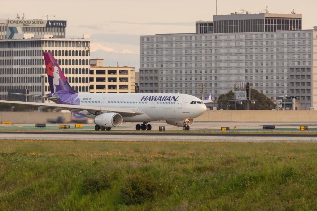 Hawaiian Airlines Airbus A330 at LAX