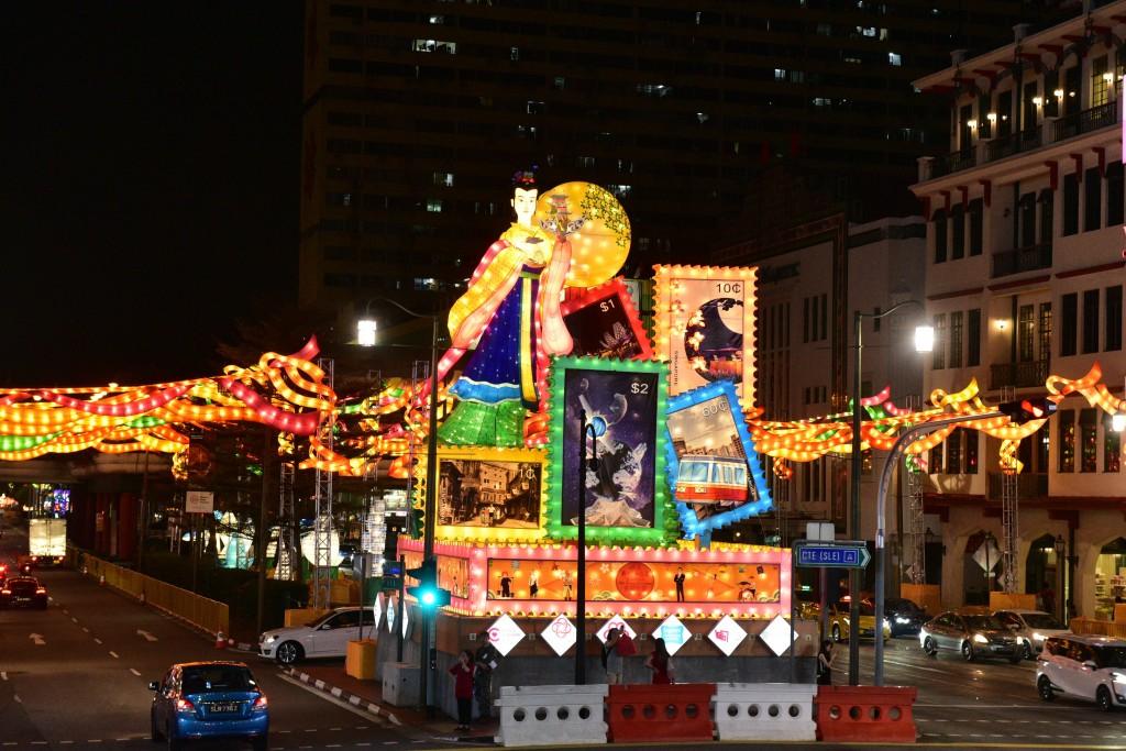 Singapore's Chinatown Mid-Autumn Festival [1]