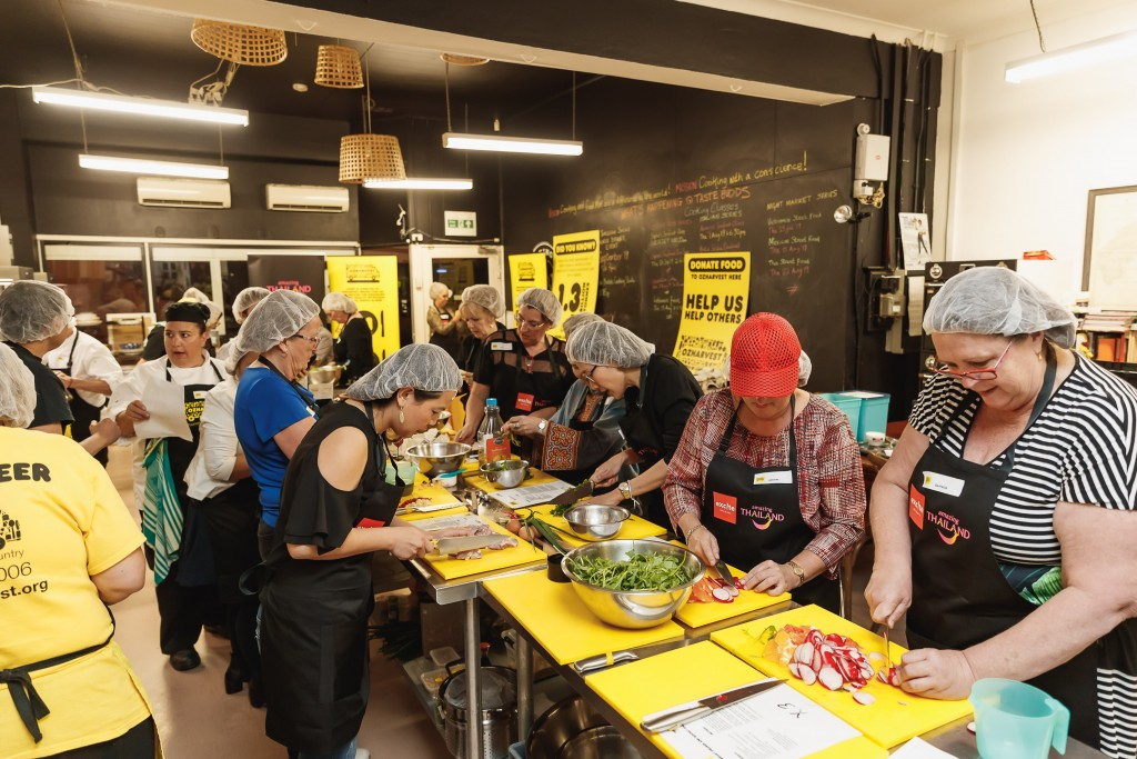 TAT, Excite Holidays and OzHarvest event [2]