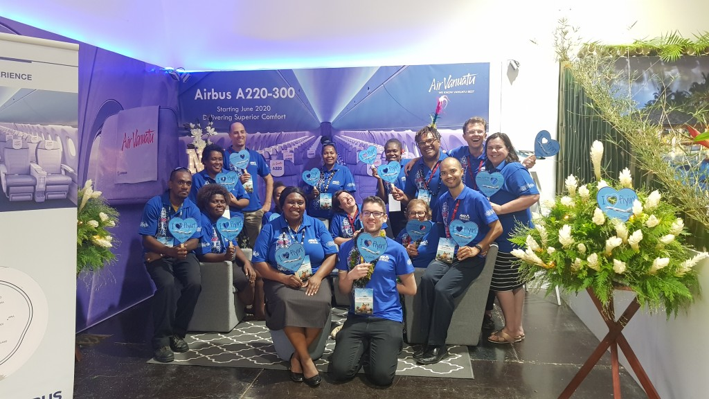 Vanuatu Tourism Office team at Tok Tok 2019