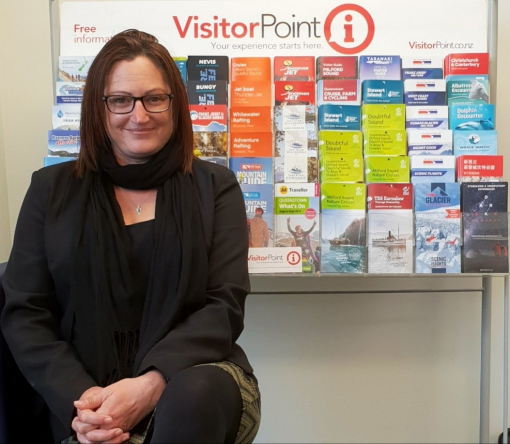 Image: Supplied by VisitorPoint. Stacey Scott, business development manager VisitorPoint