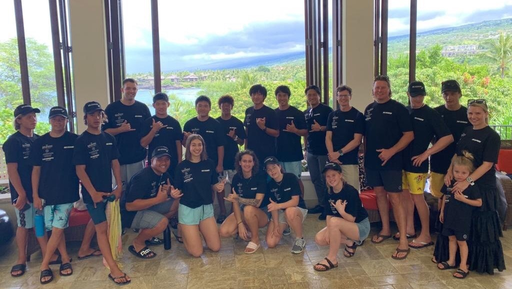 Youth ambassadors for International Coastal Clean-up Day in Hawaii