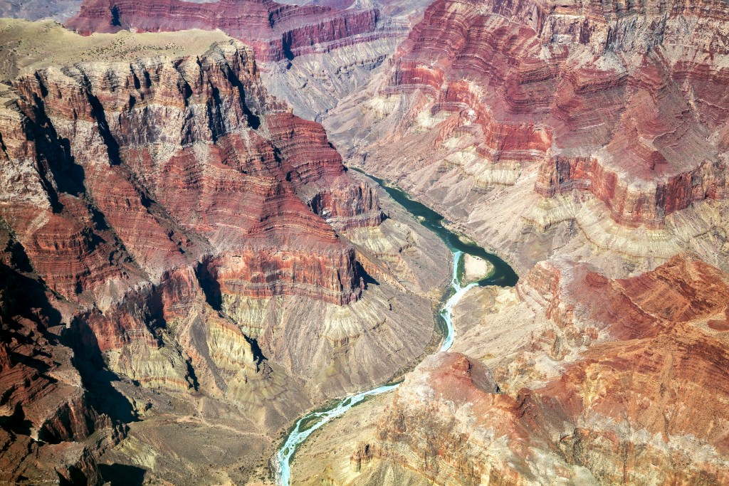 Grand Canyon, Colorado River, Aerial View, Arizona, USA