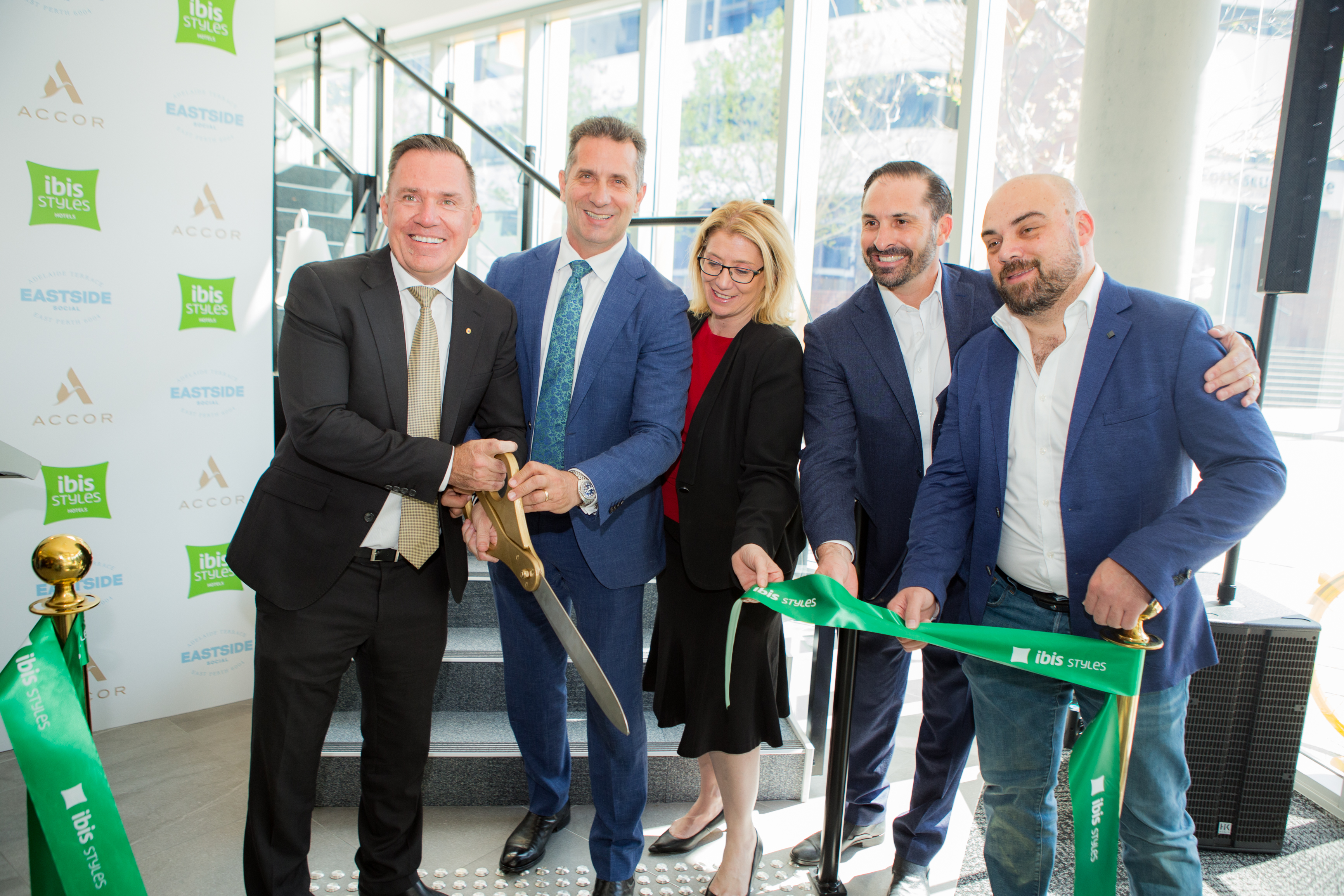 ibis Styles East Perth - ribbon cutting ceremony 23.09.19 HERO