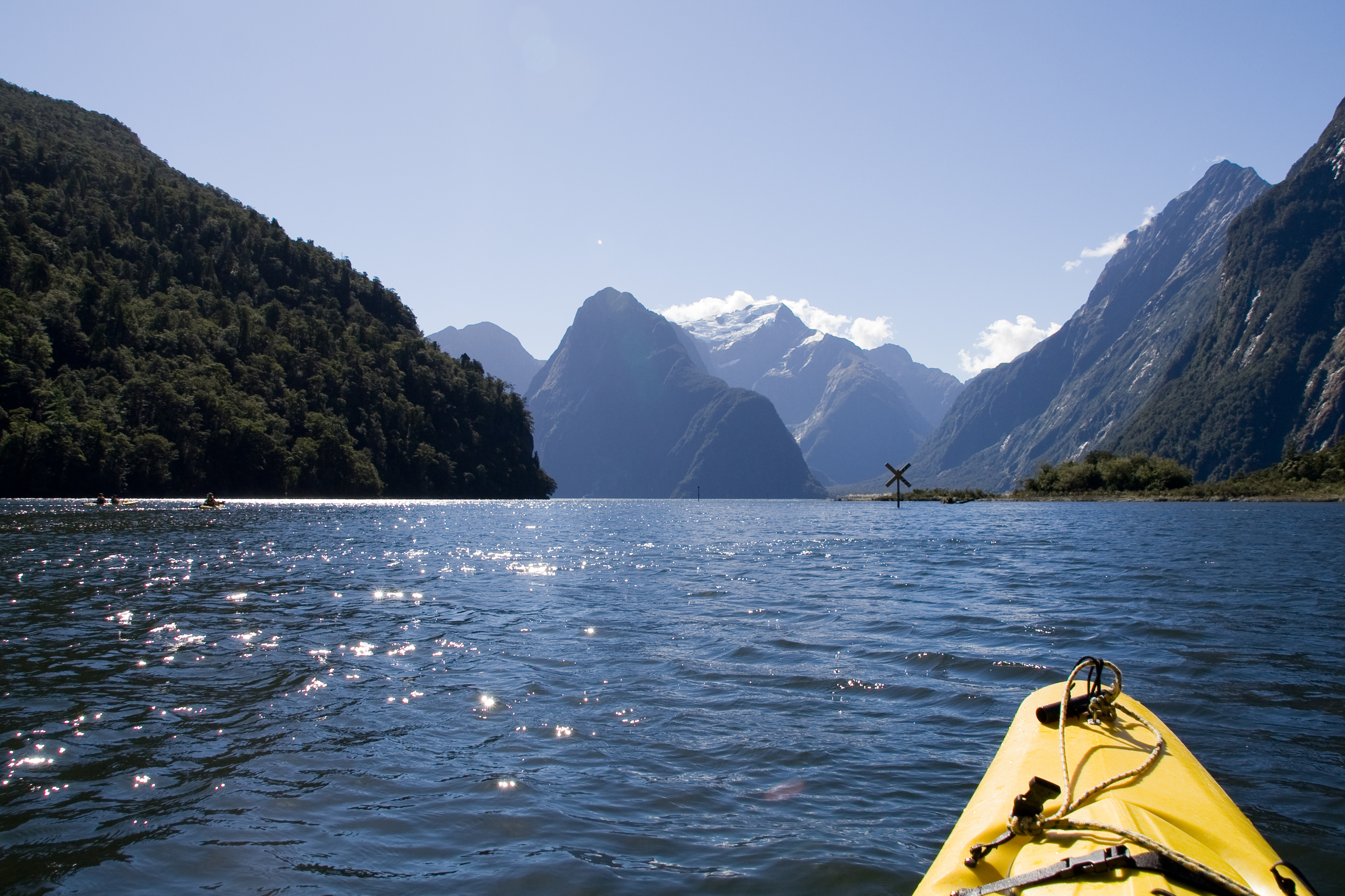 3.Kayaking in Milford Sound