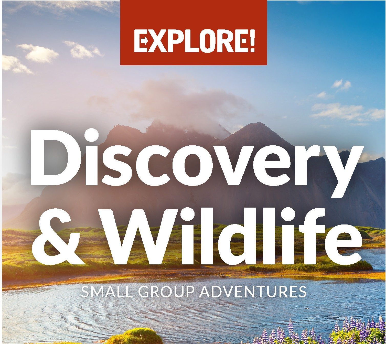 Explore Discovery & Wildlife Brochure Cover