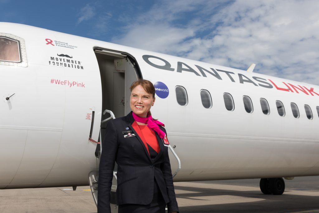 Qantas FlyPink announcement