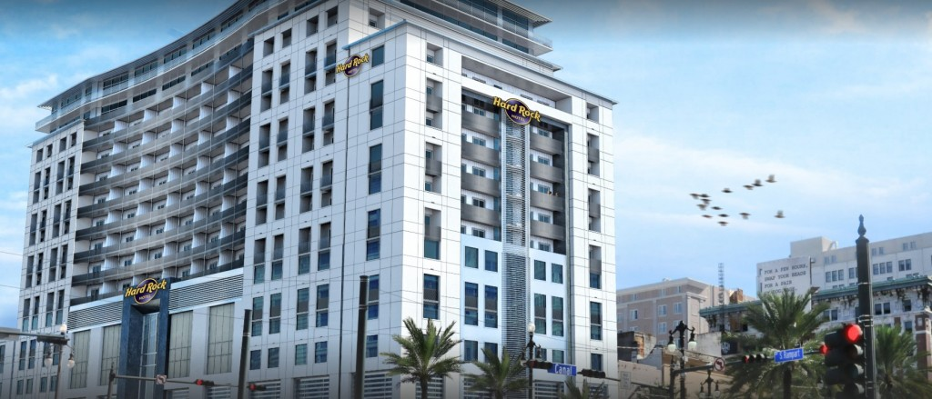 The Hard Rock Hotel New Orleans will have 350 hotel rooms, once built