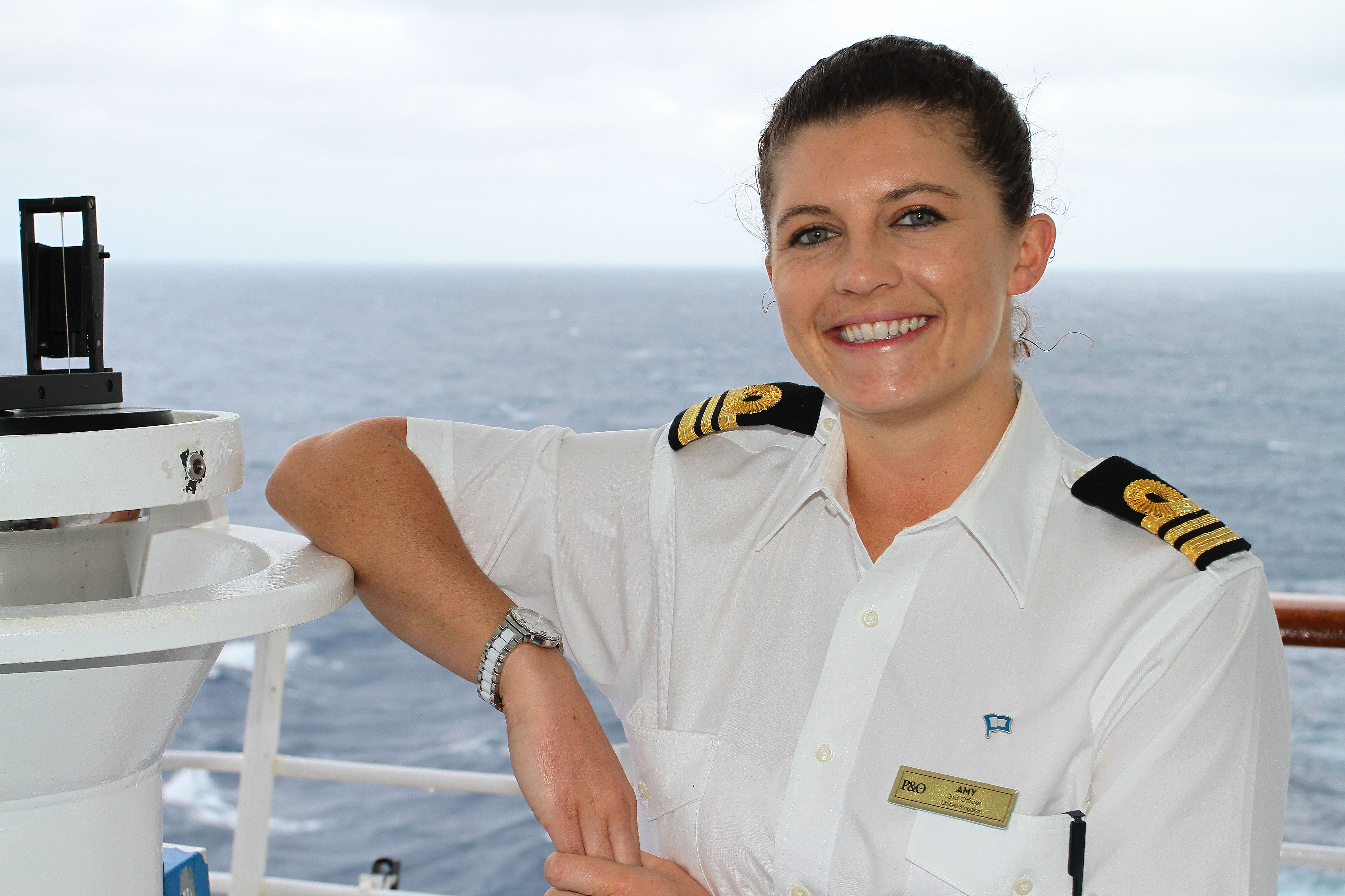 P&O Cruises Second Officer Amy Templeton_World Maritime Day