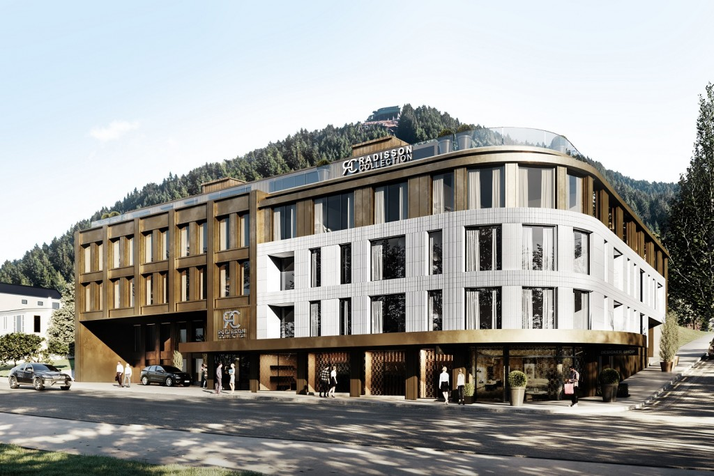 Radisson Collection Hotel Queenstown - Rendering of hotel exterior(2)
