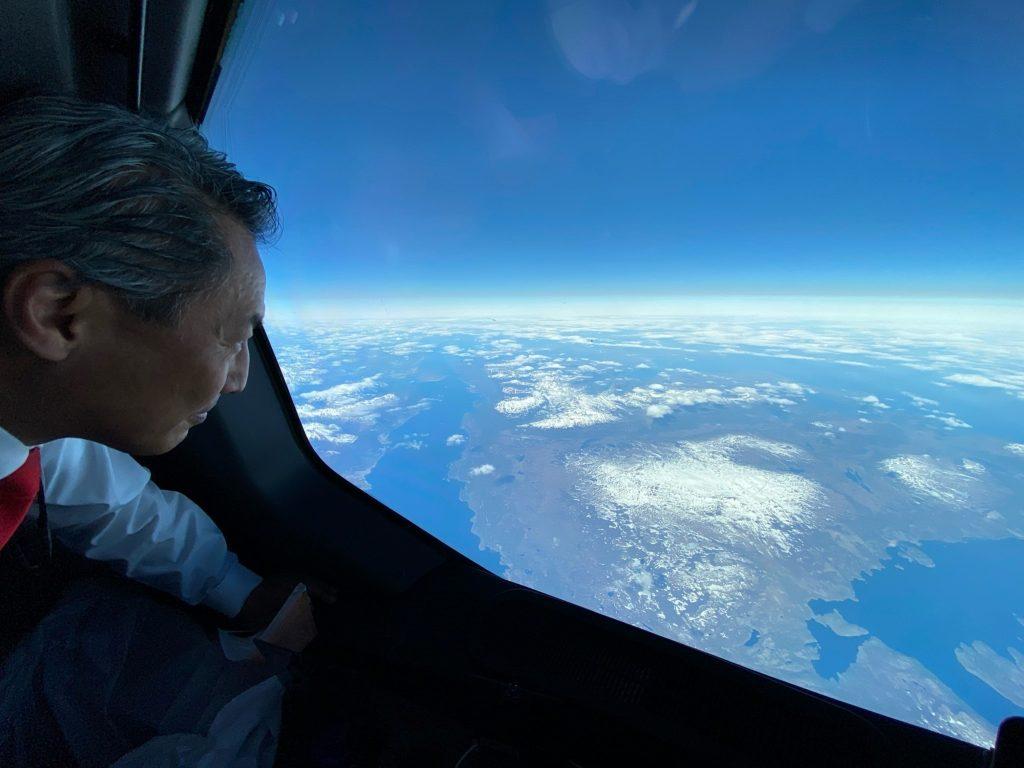 Qantas Buenos Aires Darwin record flight